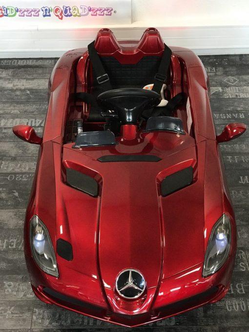 Voiture pour bébé - Mercedes SLR - Rouge - dessus