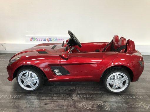 Voiture pour bébé - Mercedes SLR - Rouge - profil
