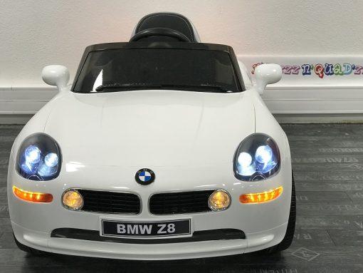 Voiture electrique bébé - BMW Z8 blanc 1