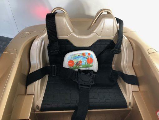 voiture électrique enfant avec ceinture